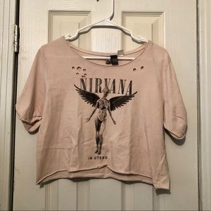 Nirvana Crop Top